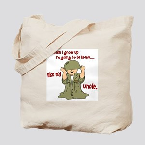 Brave Like My Uncle 1 Tote Bag