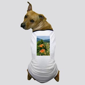 Orange Lilies Dog T-Shirt