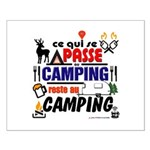 au camping reste au camping Posters