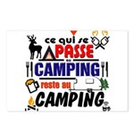 au camping reste au camping Postcards (Package of