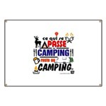 au camping reste au camping Banner