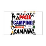 au camping reste au camping Wall Decal