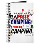 au camping reste au camping Journal