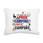 au camping reste au camping Rectangular Canvas Pil