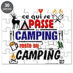 au camping reste au camping Puzzle