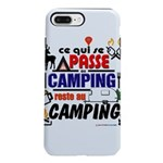 au camping reste au camping iPhone 8/7 Plus Tough