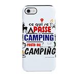 au camping reste au camping iPhone 8/7 Tough Case