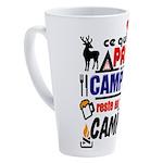 au camping reste au camping 17 oz Latte Mug
