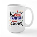 au camping reste au camping Mugs