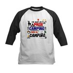 au camping reste au camping Baseball Jersey