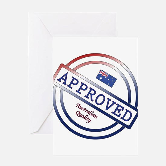 Australian Quality Approved Stamp Greeting Cards