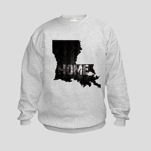 Louisiana Home Black and White Sweatshirt