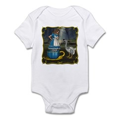 Alice in Wonderland Infant Bodysuit