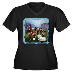 All the Pretty Little Horses Women's Plus Size V-N