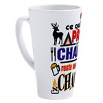 passe au chalet reste au chalet 17 oz Latte Mug