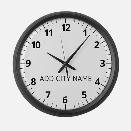 Custom Newsroom Clock Large Wall Clock