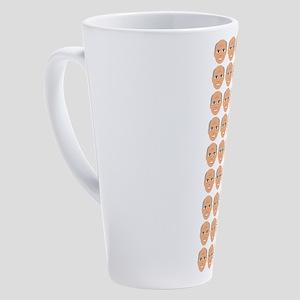 Emoji 45th President 17 oz Latte Mug