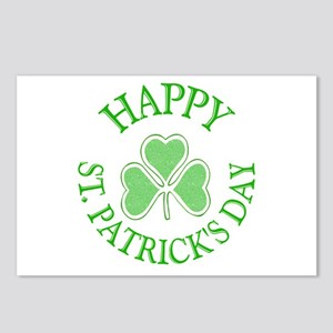 Shamrock St. Patrick's Day Postcards (Package of 8