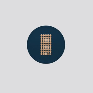 Emoji 45th President Mini Button