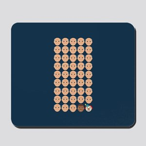 Emoji 45th President Mousepad