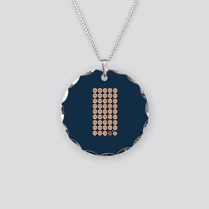 Emoji 45th President Necklace Circle Charm