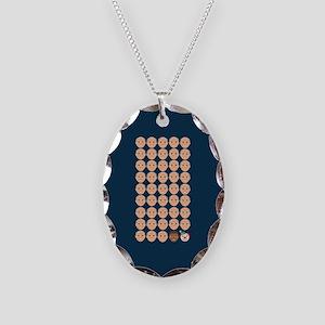 Emoji 45th President Necklace Oval Charm