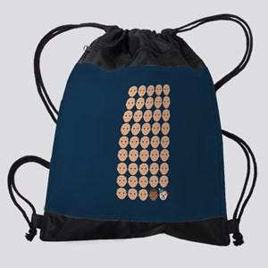 Emoji 45th President Drawstring Bag