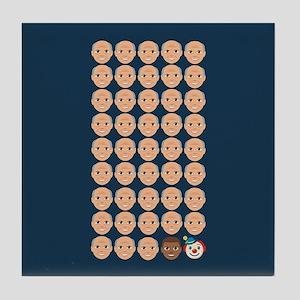 Emoji 45th President Tile Coaster