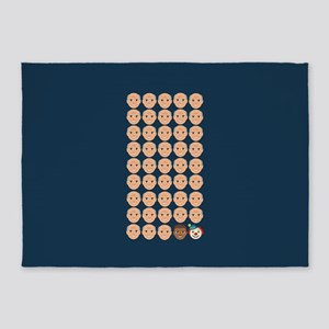 Emoji 45th President 5'x7'Area Rug