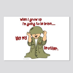 Brave Like My Brother 1 Postcards (Package of 8)
