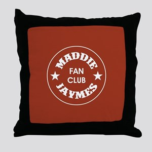 MADDIE JAYMES Throw Pillow