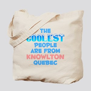Coolest: Knowlton, QC Tote Bag