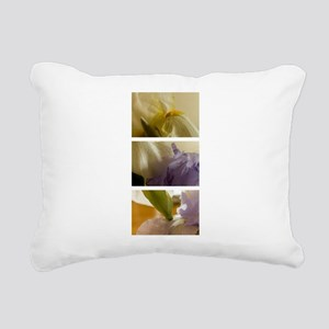 Irises Rectangular Canvas Pillow