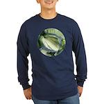 Eskimo Pie Hosta Long Sleeve Dark T-Shirt