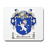 MacDowell Family Crest Mousepad