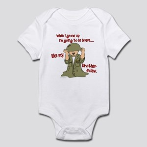 Brave Like My Brother-In-Law 1 Infant Bodysuit