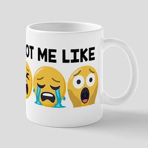 Emoji Mondays Be LikeEmoji Monda 11 oz Ceramic Mug