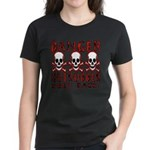 KEEP BACK! Women's Dark T-Shirt