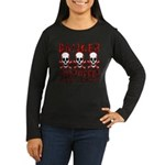 KEEP BACK! Women's Long Sleeve Dark T-Shirt