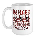 KEEP BACK! Large Mug