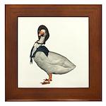 Mother Goose (The Goose) Framed Tile