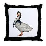 Mother Goose (The Goose) Throw Pillow
