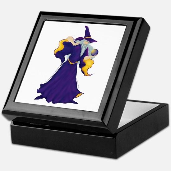 Merlin the Wizard Picture Keepsake Box