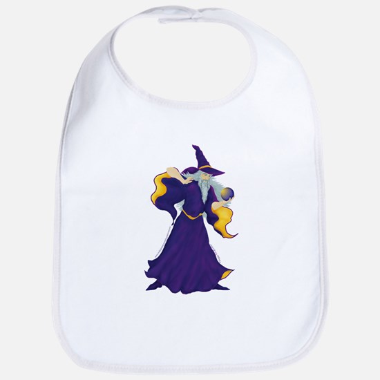 Merlin the Wizard Picture Bib