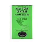 NYC Putnam Division Rectangle Magnet