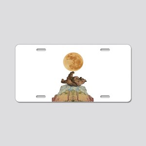 MOON Aluminum License Plate