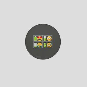 Emoji Phone Battery Mini Button