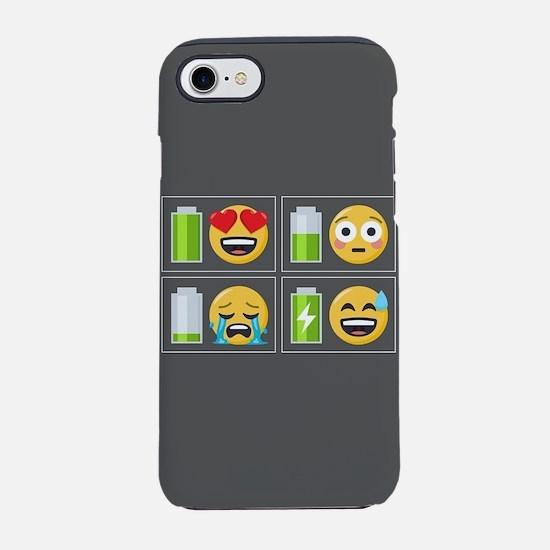 Emoji Phone Battery iPhone 8/7 Tough Case