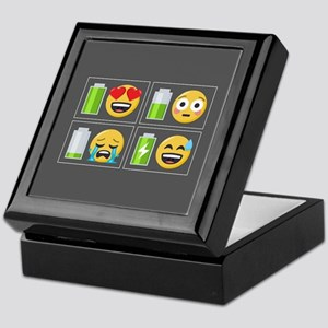 Emoji Phone Battery Keepsake Box