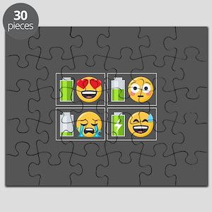 Emoji Phone Battery Puzzle